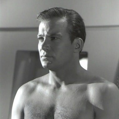 Serious Shatner is serious (and shirtless).