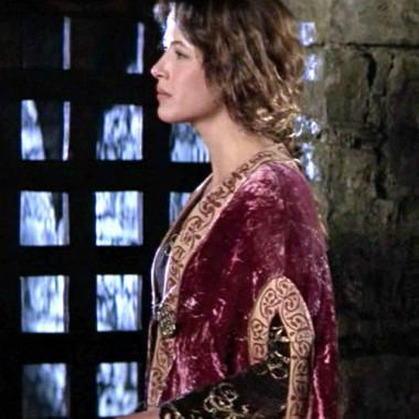 panne velvet robe over more stretch velvet