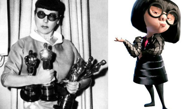 Edith Head / Edna Mode