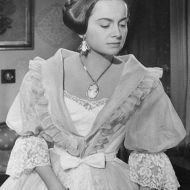 "Olivia de Havilland in ""The Heiress,"" a 1949 serious Victorian drama"