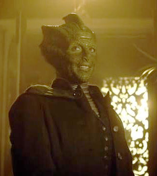 "Madame Vastra in ""A Good Man Goes to War"""
