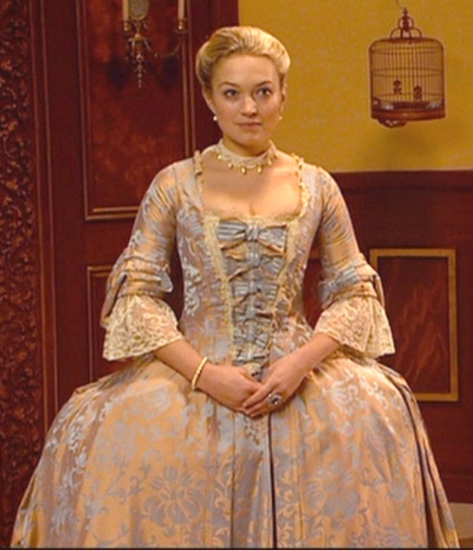 This 18th-c. gown has been in multiple costume dramas!