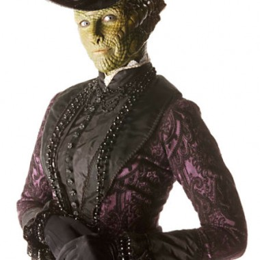 And Madame Vastra's in 1880s with everyone else this time.