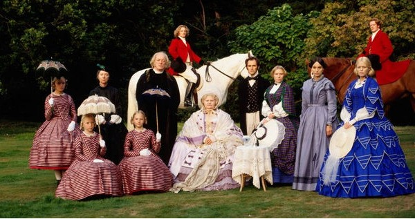 Proper Victorian family - NOT