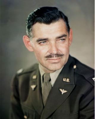 Major Clark Gable, U.S. Army Air Force