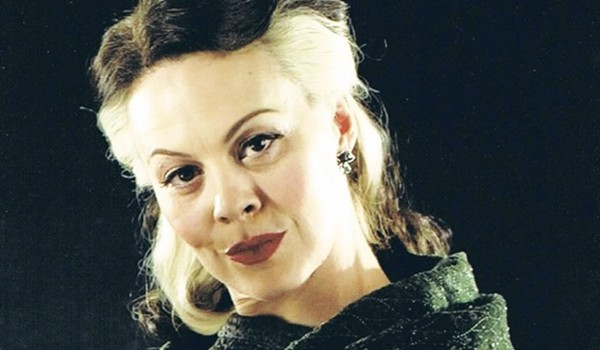 Helen McCrory as Narcissa Malfoy in the Harry Potter series