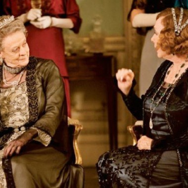The Dowager Countess & Mrs. Levinson, old fashions & new.