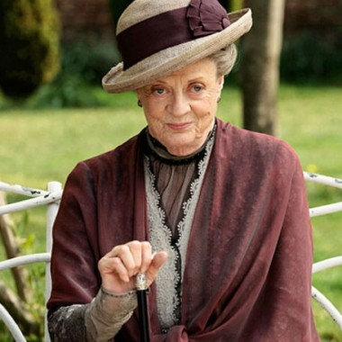 The Dowager Countess does not approve of flappers!