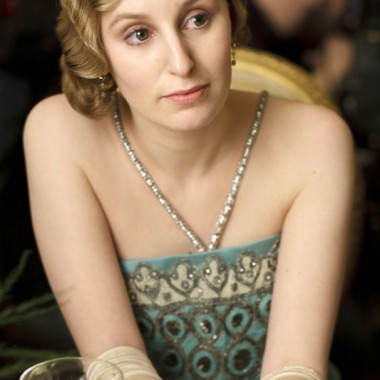 Lady Edith, on the town.