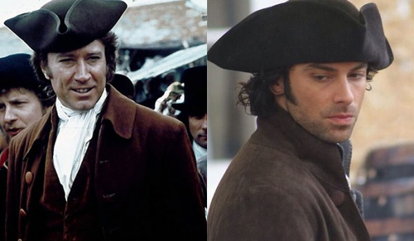 Ross Poldark, old and new