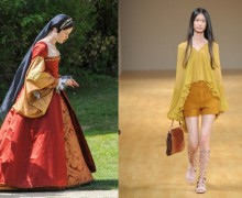 haute couture inspired by historical film