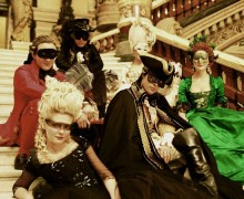 masquerade scenes in historical film
