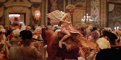 "The costume party in ""Amadeus"" (1984)."