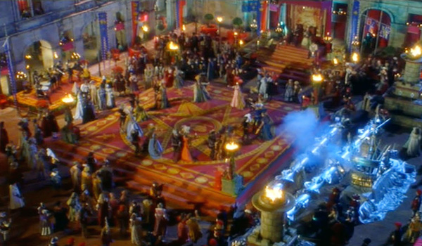 "Masquerade ball in ""Ever After"" (1998)."