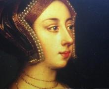 Anna Bullen by Hans Holbein, Hever Castle