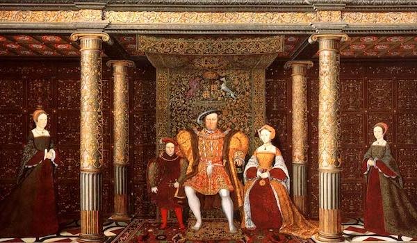 The Family of Henry VIII c 1545 Hampton Court Palace