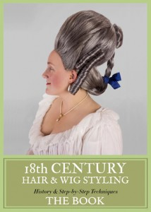 18th Century Hairstyling Book by Frock Flicks' own Kendra Van Cleave