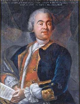 Portrait of Riccardo Broschi (circa 1698-1756). From Wikimedia Commons.