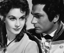 "Vivien Leigh & Laurence Olivier in ""That Hamilton Woman"" (1941)"