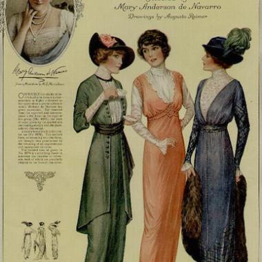 1914 fashion plate