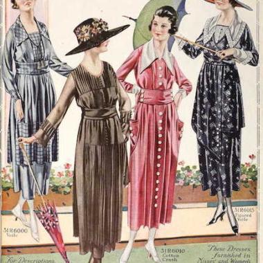 1919 fashion plate