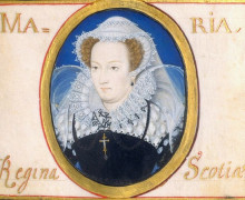 Mary Queen of Scots, 1578, by Nicholas Hilliard