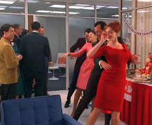 Mad Men office Christmas party