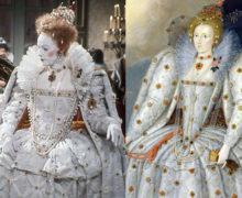Elizabeth R Ditchley gown