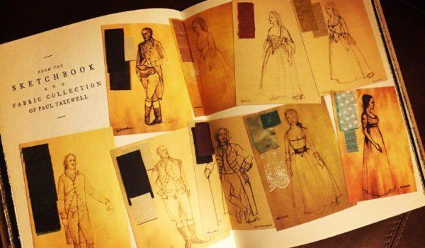 Hamilton (2015), costume designer Paul Tazewell's sketch book