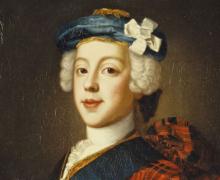 William Mosman - Prince Charles Edward Stuart, 1750, Scottish national Gallery