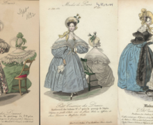 Women's fashions, early to late 1830s