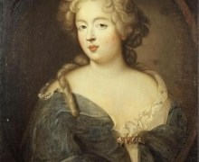 """Portrait of Madame de Montespan,"" mistress to Louis XIV, c. 1675, via Wikimedia Commons."