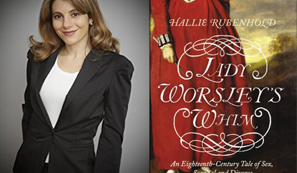 Hallie Rubenhold, author of Lady Worsley's Whim