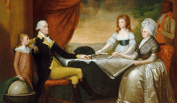 1789-1796, Edward Savage - The Washington Family