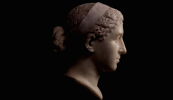 Cleopatra ancient bust