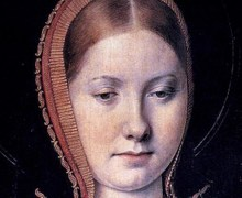 Catherine of Aragon c. 1502 by Michael Sittow