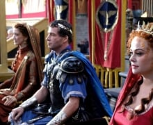 Rome (2005), James Purefoy & Polly Walker