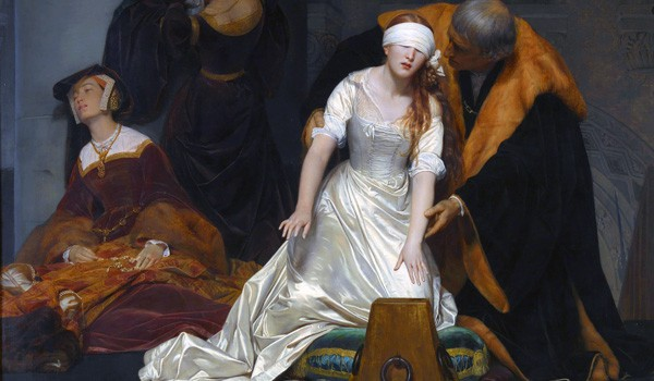 PAUL DELAROCHE - Execution of Lady Jane Grey, 1834