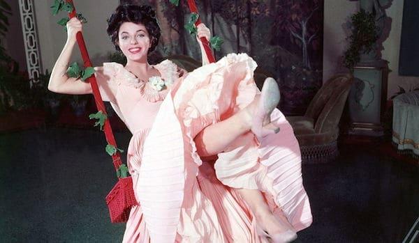 1955 The Girl in the Red Velvet Swing