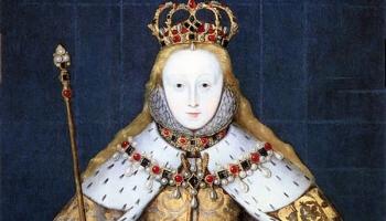 Queen Elizabeth I in coronation robes