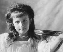 Grand Duchess Anastasia Nikolaevna of Russia, 1910, via Wikimedia Commons