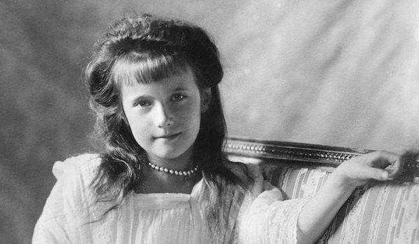 Grand Duchess Anastasia Nikolaevna of Russia, 1910, via Wikimedia Commons