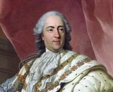 Portrait of Louis XV of France (1710-1774), 1763, Workshop of Louis-Michel van Loo