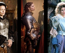 historical women in armor