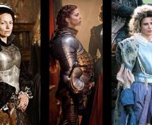 historical women in armor
