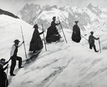 victorian women mountain climbers