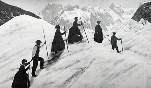 victorian women mountain climbers