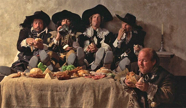 1974 Three Musketeers