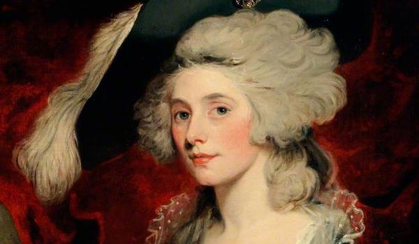 Mrs Mary Robinson as 'Perdita,' attributed to John Hoppner, 18th century, Chawton House Library