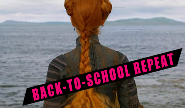 Back to School Repeat - Metal Grommets - Mary Queen of Scots (2018)